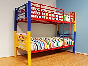 Super Hero Multi Coloured Bunk Bed