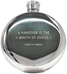 IZOLA Dorothy Parker Flask, 5-Ounce by Izola, Inc
