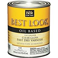 - W54V00707-13 Best Look Fast Dry Alkyd Varnish-INT GLOSS ALKYD VARNISH