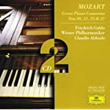 Mozart, W.A.: Piano Concertos Nos.20, 21, 25 & 27 (2 CD's)