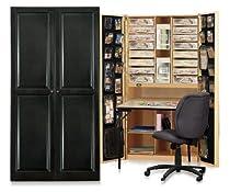 Hot Sale Original Scrapbox Craftbox Scrapbooking Storage Organizer Black Raised Panel Cabinet