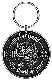 Motorhead Standard Keychain: the World Is Yours