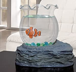 fake fish bowl toys games