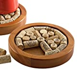 Wine Enthusiast Cork Trivet Kit