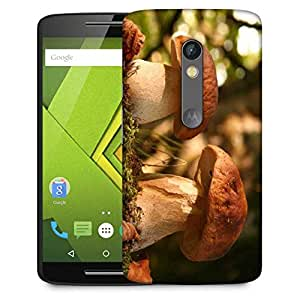 Snoogg Abstract Mushroom Designer Protective Phone Back Case Cover For Moto G 3rd Generation