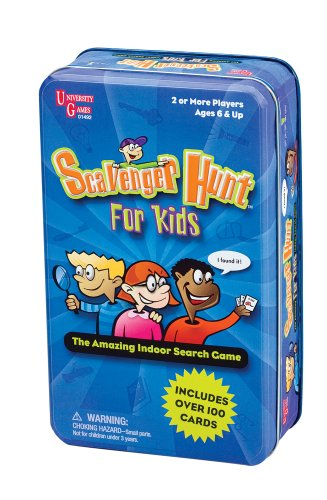 Scavenger Hunt for Kids Tin - 1