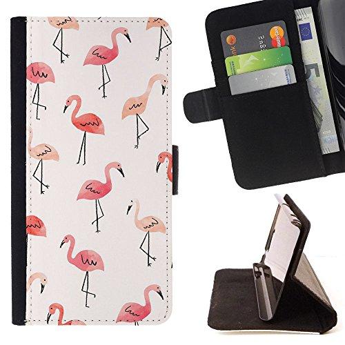 - Swan Cute - - Stile cassa dell'unitš€ di elaborazione di cuoio del raccoglitore del basamento di vibrazione [Chiusura della falda] Copertina FOR Apple Iphone 5 / 5S - Devil Case -