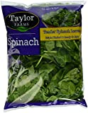 Taylor Farms Spinach, 9 oz Bag