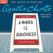 A Murder Is Announced: A Miss Marple Mystery | Agatha Christie