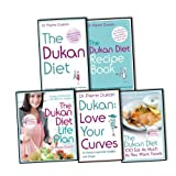 Dr Pierre Dukan Dr Pierre Dukan Dukan Diet 5 Books Collection Pack Set RRP: £87.09 (The Dukan Diet, Recipe Book, Life Plan, Love Your Curves, 100 Eat as Much as You Want Foods)