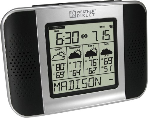 La Crosse Technology Weather Direct Wa-1240U 4 Day Talking Wireless Internet Forecaster