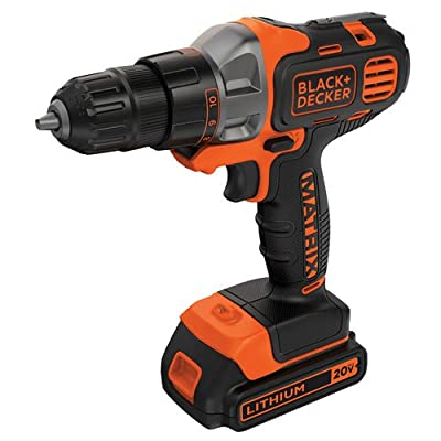 Black & Decker 20V MAX Lithium Drill/Driver with 2 Batteries