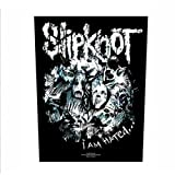 Slipknot - Backpatch I Am Hated (in 23,5 cm x 20 cm)