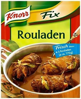 Knorr Fix für Rouladen, 26er Pack (26 x 34 g Beutel) von Knorr - Gewürze Shop
