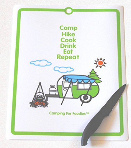 Retro RV Camper Flexible Cutting Mat made our list of camping gifts couples will love and great gifts for couples who camp