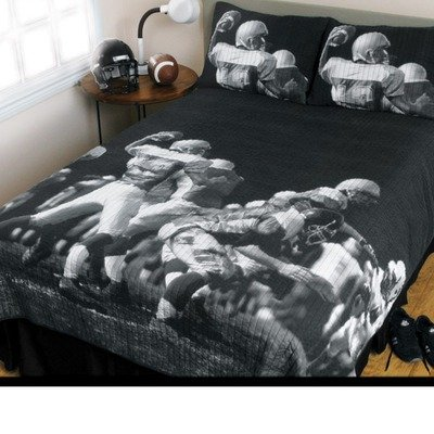 Nfl Play Action Play Action Play Action Quilt Bed In The Bag Queen
