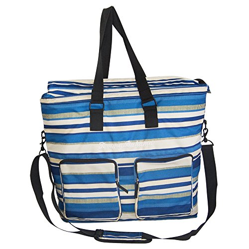 Tommy Bahama Insulated Tote Blue Home Garden Kitchen