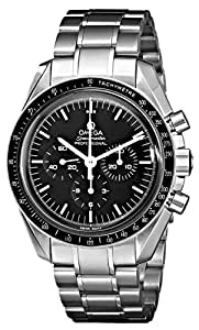 Omega Men's 3570.500 Speedmaster Professional Watch with Brown Band