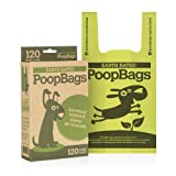 120 Earth Rated Handle Dog Waste Bags, 120-Count (not on rolls)