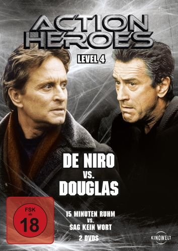 Action Heroes - Level 4: De Niro vs. Douglas [2 DVDs]