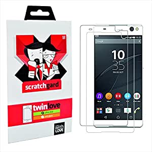 Scratchgard Clear and Matte Anti-Glare Protectors Screen Guards for Sony Xperia C5 Ultra Dual E5563