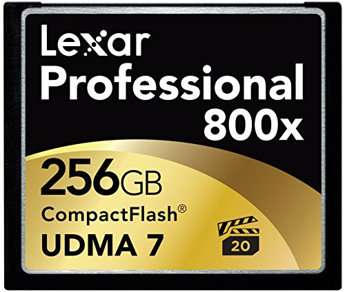 Lexar 256GB 800x Professional CompactFlash Speicherkarte