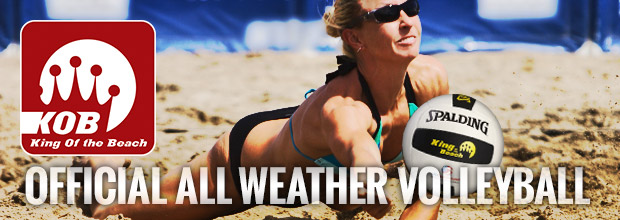 King of the Beach All Weather Volleyball