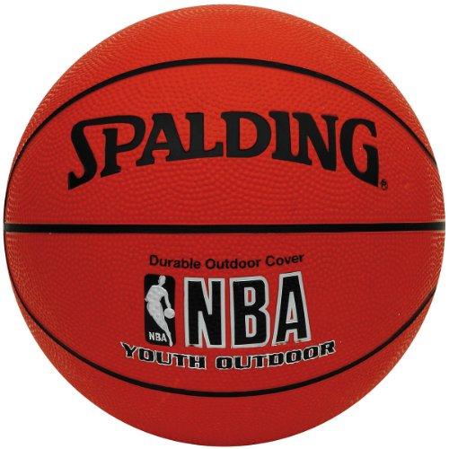 "Spalding NBA 63-306 Varsity Outdoor Basketball - Youth Size 27.5"""