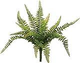 ポピー 造花の観葉植物 シダブッシュS グリーン GL-5053GR