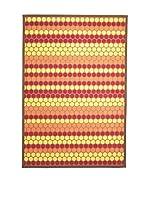 Tapis a Porter Alfombra Modern Naranja/Multicolor 80 x 150 cm