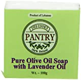 Cooks Pantry Hand Made Pure Olive Oil Soap with Lavender Oil 100 g (Pack of 3)