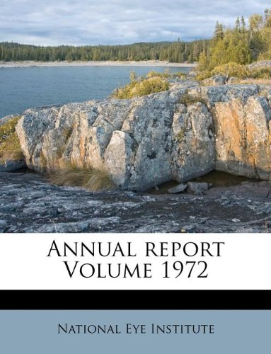 Annual report Volume 1972