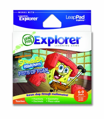 LeapFrog Explorer Learning Game: SpongeBob SquarePants Fists of Foam (works with LeapPad & Leapster Explorer)