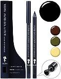 [YADAH] ヤダー オート ジェル ライナー グットバイ スマッジ (01. リアル ブラック ) 0.6g | ジェルアイライナー ブラック ペンシル リキッド にじまない カラー 人気 ランキング