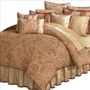 Veratex 456855 Castille 4-Piece Queen Comforter Set