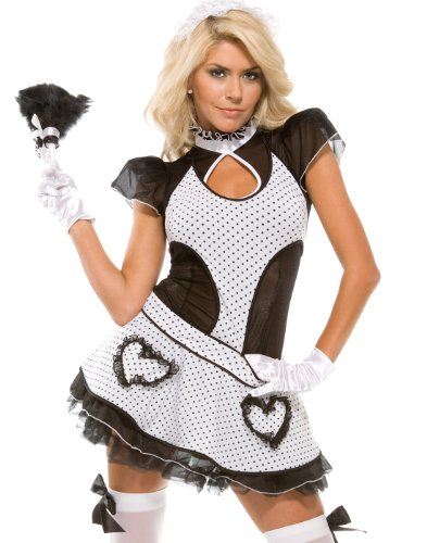 Forplay Women's Maid Of Love Adult Sized Costumes