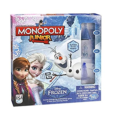 Monopoly Junior Frozen Edition Board Game