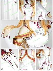 高品質コスプレ衣装 ソードアートオンライン アスナ/結城明日奈 衣装+ウイッグ+靴 フルセット コスチューム、コスプレ
