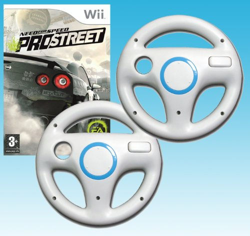 Need For Speed: Prostreet + 2 Wheel Attachments Bundle