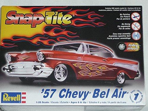 Chevrolet Chevy Bel Air 1957 Rot 85-1931 Bausatz Kit 1/24 1/24 Revell Usa Modellauto Modell Auto