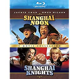 Shanghai Noon / Shanghai Knights (2-Movie Collection) [Blu-ray]