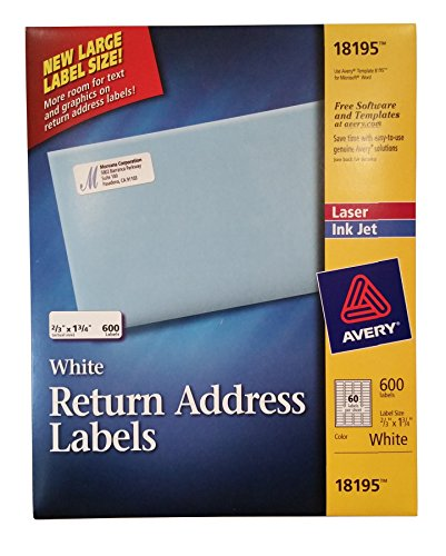 Avery White Address Labels Images