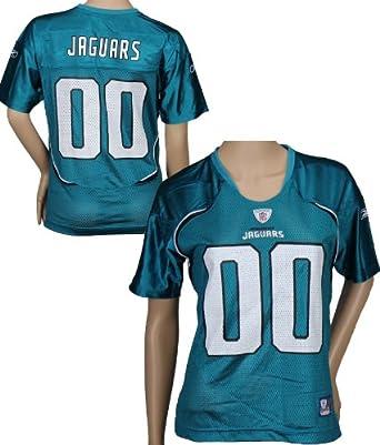 Jacksonville Jaguars NFL Ladies Team Replica Jersey, Teal by Reebok