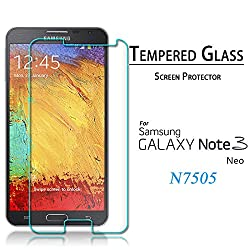 SAMSUNG NOTE 3 NEO(N7500 or n7505) PREMIUM QUALITY TEMPERED GLASS SCREEN PROTECTOR