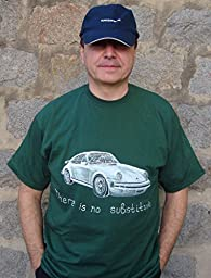 Gift T-shirt to Impress Classic Porsche 911 Carrera Mens Car T-shirt Original Painting T-shirt Car Racing Auto Decor Limited Edition Personalise Car Art T-shirt Porsche Speedster ХL 61.0 х 77.0 sm.