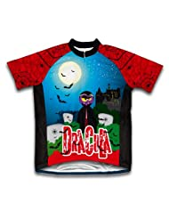 Dracula Short Sleeve Cycling Jersey for Women