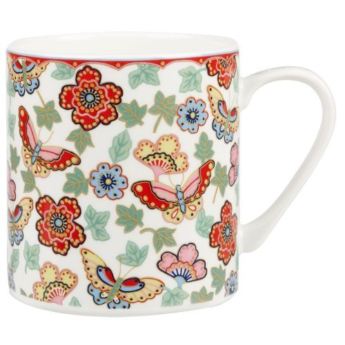 Queens The Caravan Trail Helford Gold Mug
