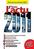 Toute l'actu 2011 Concours et examens 2012
