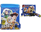 Disney Toy Story Blue Drawstring Bag and Lanyard