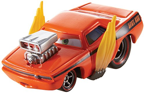 Disney/Pixar Cars Snot Rod with Flames Diecast Vehicle - 1